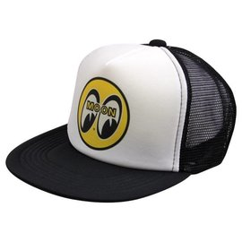 Mooneyes Trucker Hat - Mooneyes Logo or Moon Equipped