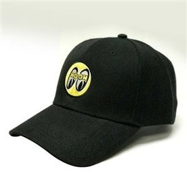 Mooneyes Black Cap with Yellow Logo