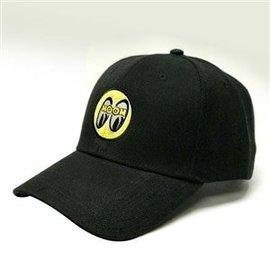 Mooneyes Black Cap with Yellow Logo - Kids