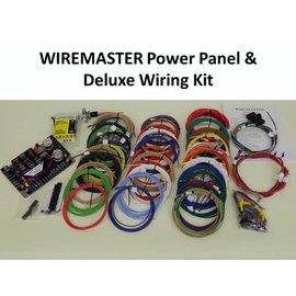 Wiremaster Power Panel & Deluxe Wiring Kit