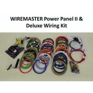 Wiremaster Power Panel II & Deluxe Wiring Kit