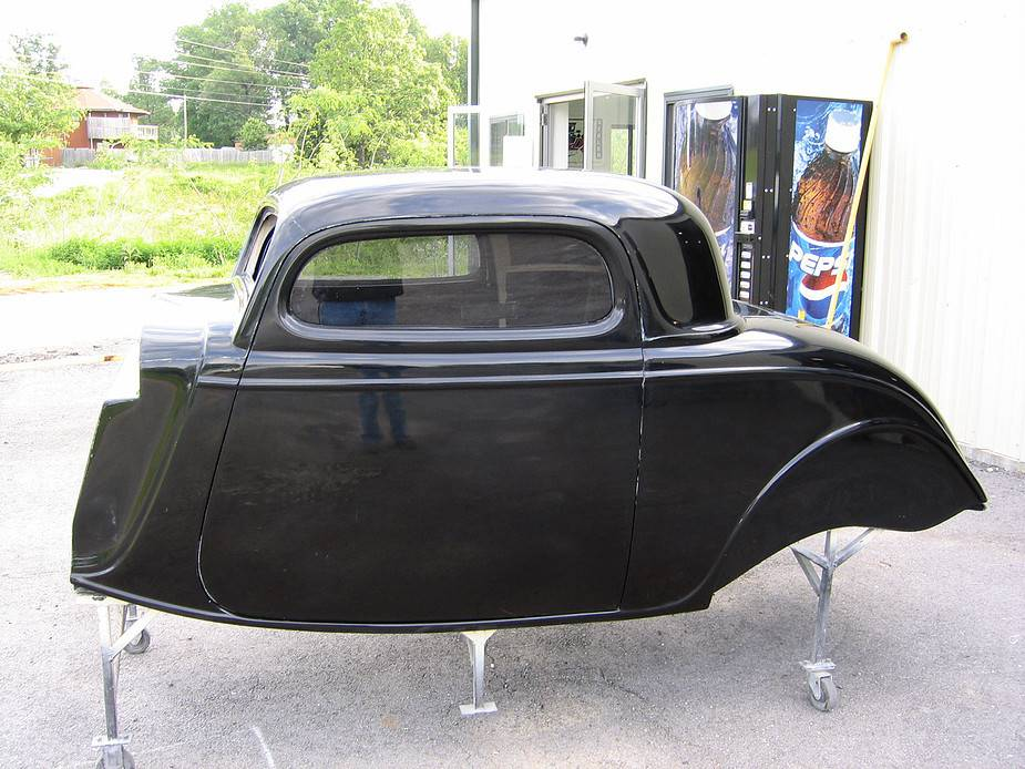 Show Me Rod & Custom - Show Me 34 Ford 3-Window Coupe Body