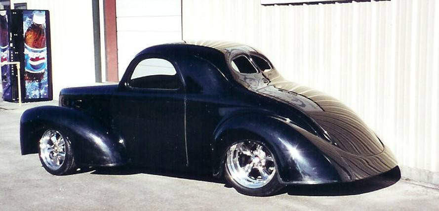 Garage Door Kit >> Show Me 41 Willys Coupe Body& Chassis - Affordable Street Rods