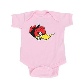 Clay Smith Cams Baby Romper - Lil Ms Horsepower - Pink
