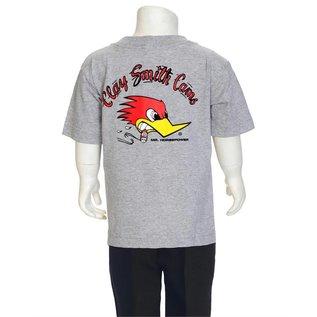 Clay Smith Cams CS 04Y - Mr Horsepower Youth T-Shirt - Gray