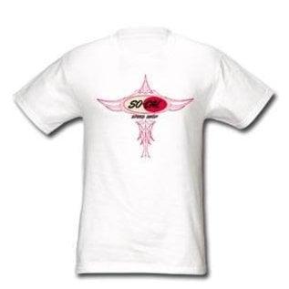So-Cal Speed Shop Pinstripe Logo Shirt or Onesie  - White
