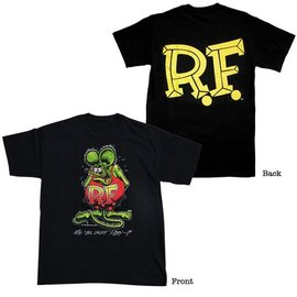 Mooneyes Rat Fink Youth - Black