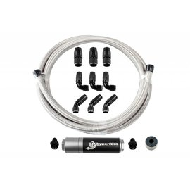 FiTech 20′ Stainless Steel Hose Kit w/ CV Filter - 87205