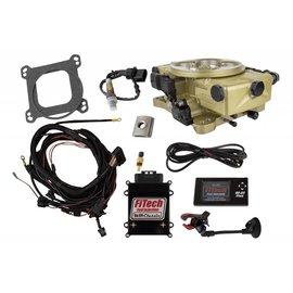 FiTech Go EFI Classic 650HP EFI Gold External ECU - 30020