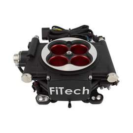 FiTech Go EFI 4 - 600 HP EFI System - Power Adder - Matte Black Finish - 30004
