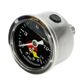 Clay Smith Cams Clay Smith Cam Fuel Pressure Gauge - Black Face