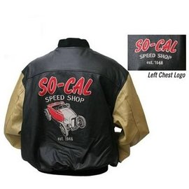 So-Cal Speed Shop Roadster Leather Jacket