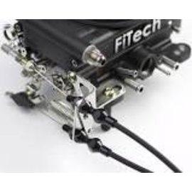 Lokar FI Tech Throttle Cable Bracket - Black - XTCB-40FIT