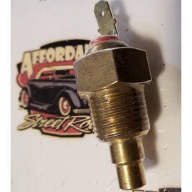"Affordable Street Rods Block Sender - 3/8"" NPT - On 180°/Off 160°"