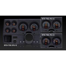 Dakota Digital Dakota Digital 76-78 Chevy Pickup RTX Instruments - RTX-76C-PU-X