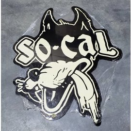 So-Cal Speed Shop Garage Sign - So-Cal Wolf