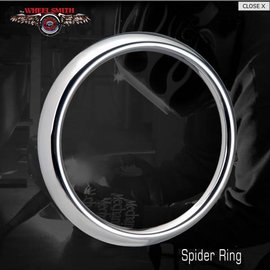Wheel Smith Beauty Ring Set for Spider Caps