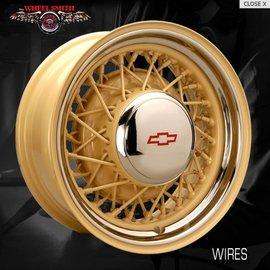 Wheel Smith Wheelsmith Hotrod Wire Steel Wheel