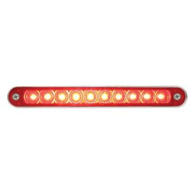 "United Pacific 10 LED 6 1/2"" Stop, Turn & Tail Light Bar w/ Bezel - #37638"