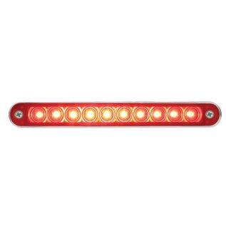 "United Pacific 10 LED 6 1/2"" Stop, Turn & Tail Light Bar w/ Bezel - #37638"