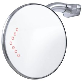 """United Pacific 4"""" Peep Mirror w/LED turn - #C5001-LED"""