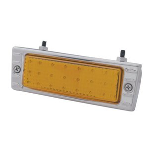 United Pacific 47 - 53 Chevy Truck LED Park light Assembly - Amber - Stainless - CPL4753A-AS