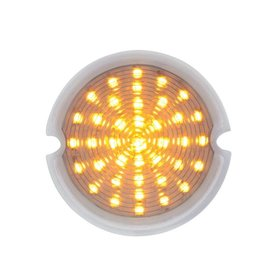 United Pacific 51-53 GMC Truck LED Park Light - Clear/Amber - #CPL5153C
