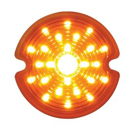 United Pacific 53-62 Corvette LED Park light Lens - Amber - CPL5362A