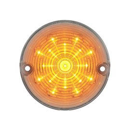 United Pacific 57 Chevy LED Park light - Amber/Clear - #CPL5702C