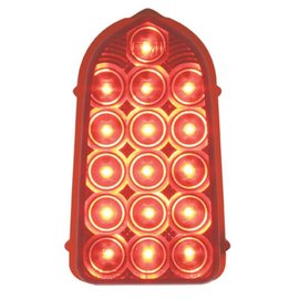United Pacific 49 - 50 Chevy LED Tail light - Red - #CTL4901LED