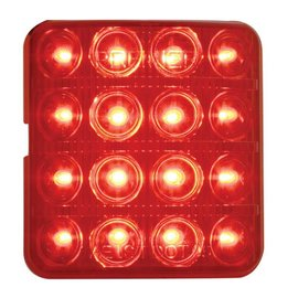 United Pacific 51- 52 Chevy LED Tail light - Red - #CTL5152LED