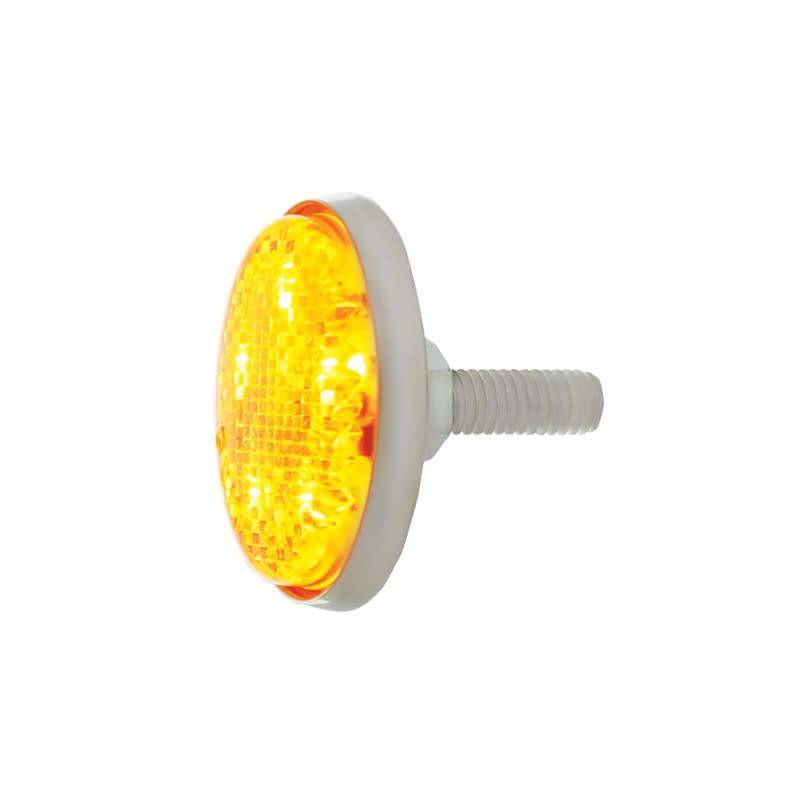 Red Lens United Pacific CTL5606LED 5 Red Led Stud Mounting Auxiliary//Utility Light