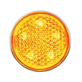 United Pacific 5 LED Aux Utility Light - Amber - #CTL5606A