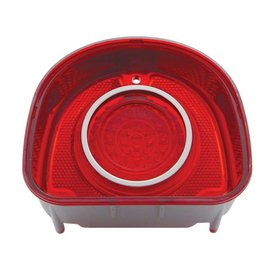 United Pacific 68 Chevy Bel Air LED Tail light w/SS trim - CTL6802LED