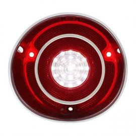 United Pacific 71 Chevelle SS Reverse Light Lens-R-Carded - #CBL7101LED-L