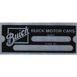 Affordable Street Rods E4 Vin Tag - Buick Motor (2 Lines)