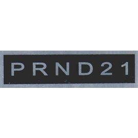 Affordable Street Rods E7 Vin Tag - PRND21