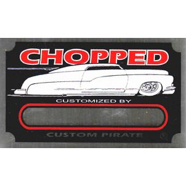 Affordable Street Rods G3 Vin Tag - Chopped Custom Plate