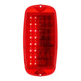 United Pacific 60-66 Chevy Truck LED Tail Light - Fleetside - Carded - Sequential - 110199