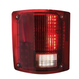 United Pacific 73-87 Chevy & GMC Truck LED Tail Light Assembly - Sequential - LH - CTL7387LED-L
