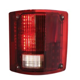 United Pacific 73-87 Chevy & GMC Truck LED Tail Light Assembly - Sequential - RH - CTL7387LED-R