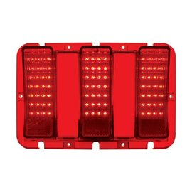 United Pacific 67-68 Ford Mustang LED Tail Light - FTL6701LED