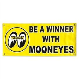 Mooneyes Banner - Be a Winner - Mooneyes