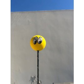 Mooneyes Antenna Topper - Moon Ball - Yellow - MG015Y