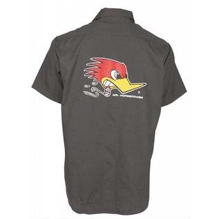 Clay Smith Cams CS 14A - Mr. Horsepower Mechanics Shirt - Charcoal