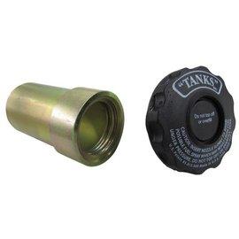 Tanks Inc. Push through cap and neck - FFN