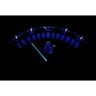 Dakota Digital 55-56 Chevy Car RTX Instruments - RTX-55C-X