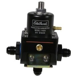 Tanks Inc. Edelbrock Carb Bypass Fuel Regulator with -6AN Fittings - 174053-KIT