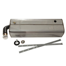 Tanks Inc. 34-35 Chevy Standard Stainless Steel Fuel Tank - 34STD-SS
