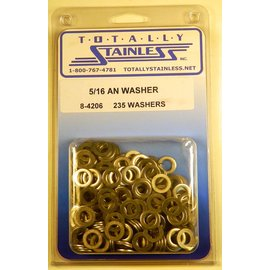 "Totally Stainless 5/16"" AN Stainless Washers"